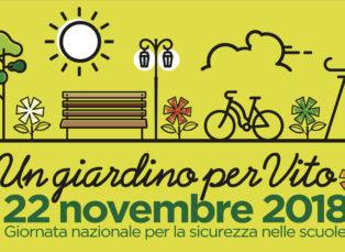 #22novembre2018: un giardino per Vito