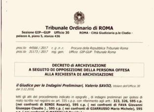 Massoneria: denuncia Goi. Il tribunale archivia